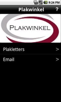 Plakwinkel.nl poster
