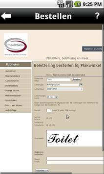 Plakwinkel.nl apk screenshot