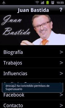 Juan Bastida Fans App poster