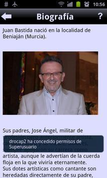 Juan Bastida Fans App screenshot 1