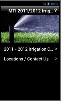 MTI Irrigation poster