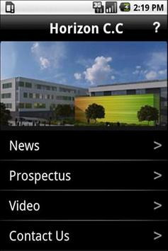 Horizon Community College screenshot 1