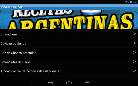 Recetas Argentinas screenshot 5