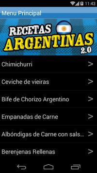Recetas Argentinas 2.0 poster