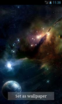 Space Live Wallpaper screenshot 2