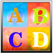 ABCD Puzzle For Kids icon