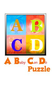 ABCD Puzzle For Kids poster