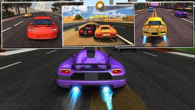 Racing in Fast Car : Real Sport Car Racing 2017 apk screenshot