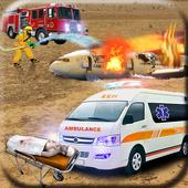 Airplane Crash Rescue 3D 🛬 icon