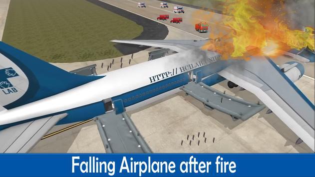 Airplane Crash Rescue 3D 🛬 poster