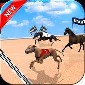 Crazy Dog Racer and Horse Run icon