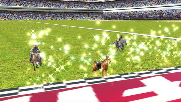 Crazy Dog Racer and Horse Run apk screenshot