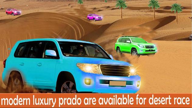 Desert Luxury Prado Driving poster