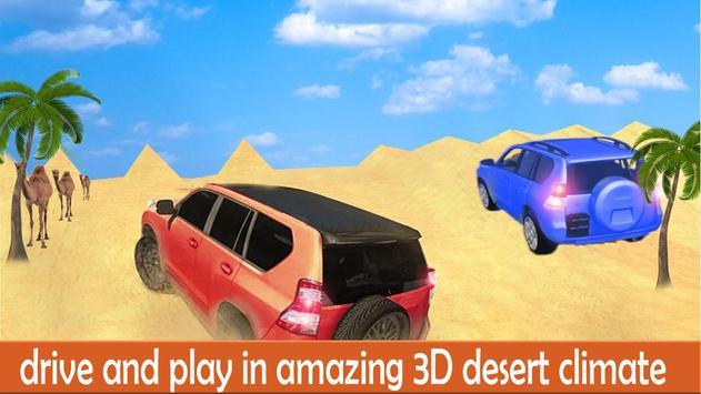 Desert Luxury Prado Driving apk screenshot