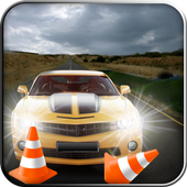Extreme Driving in Hurdles Car icon