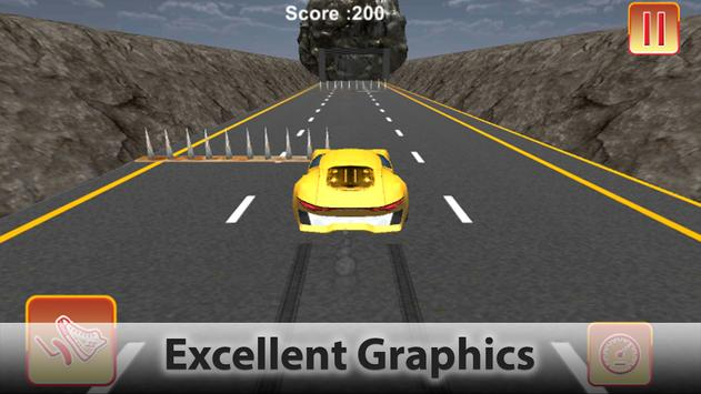 Extreme Driving in Hurdles Car screenshot 4