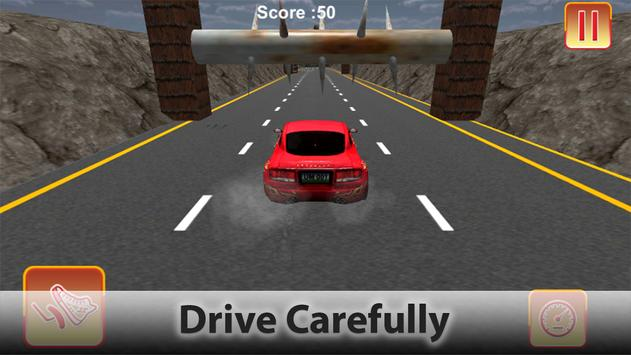 Extreme Driving in Hurdles Car screenshot 13