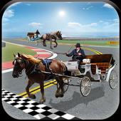 Horse Cart Racing Simulator 3D icon
