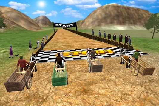 Horse Cart Racing Simulator 3D poster