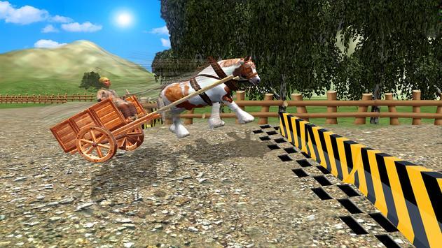 Horse Cart Racing Simulator 3D apk screenshot