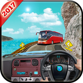 Offroad Tourist Bus Driver 3D icon