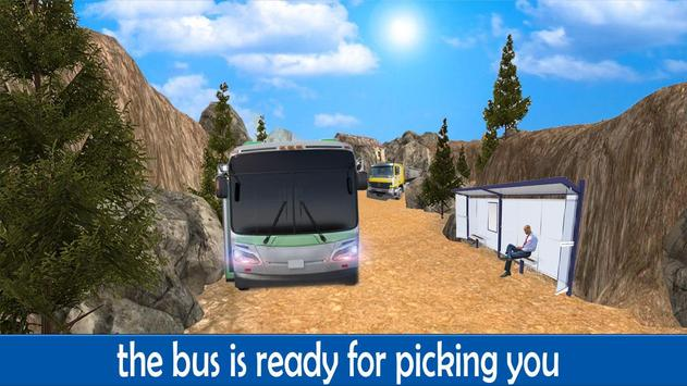 Offroad Tourist Bus Driver 3D poster