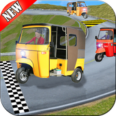 Rickshaw Race Simulator - Hill Drive Chingchi Game icon