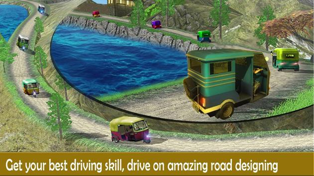 Rickshaw Race Simulator - Hill Drive Chingchi Game apk screenshot