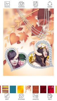 Locket Photo Frames screenshot 1