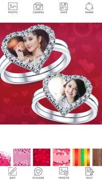 Lovely Ring Photo Collage poster