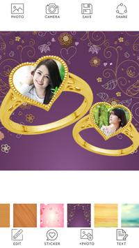 Lovely Ring Photo Collage screenshot 1