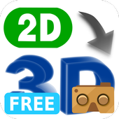 VR 2D3D Converter Free icon