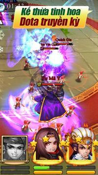DOTA Truyền Kỳ Tam Quốc apk screenshot