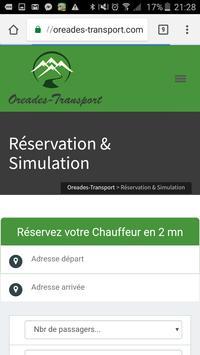 VTC Mieussy Haute-Savoie apk screenshot