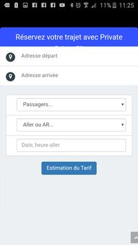 VTC à Lille, l'application de votre chauffeur VTC screenshot 2
