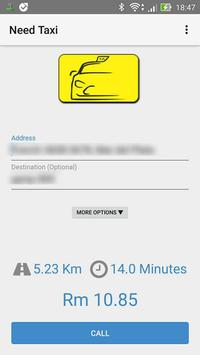 Need Taxi (Asia) Passenger application apk screenshot
