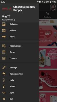 Classique Beauty Supply apk screenshot