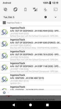 IngeniosTrack apk screenshot
