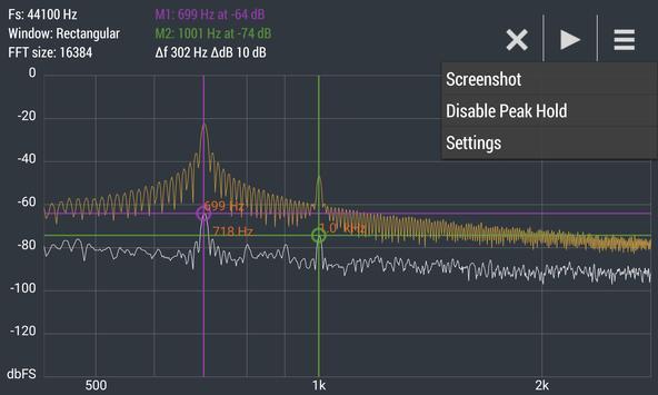 Advanced Spectrum Analyzer PRO apk screenshot