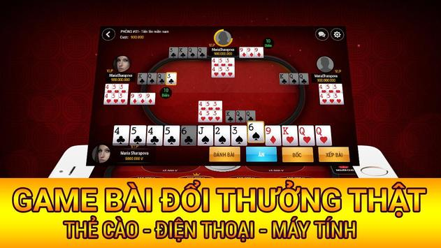 Game bai doi thuong 2016: Luca apk screenshot