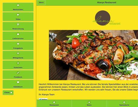 Alanya Restaurant apk screenshot