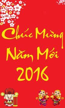 SMS Chúc Tết Bính Thân 2016 poster