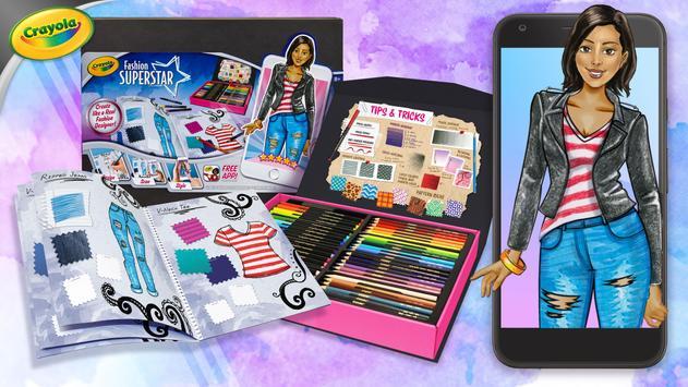 Crayola Fashion Superstar Descarga APK - Gratis Simulación Juego ...