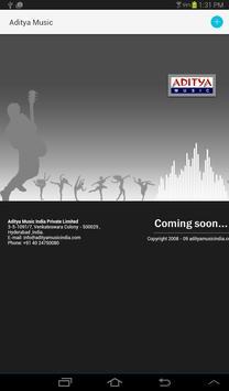 Aditya Music Beta Application screenshot 1