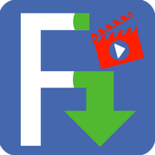 Video Download for F b icon