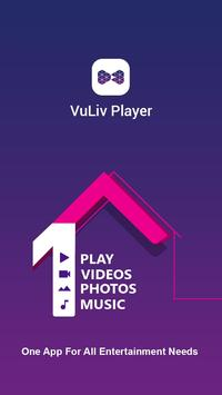 VuLiv Player- Videos & Music poster