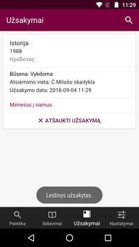 Vilnius University Library screenshot 5