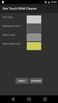 One Touch RAM Cleaner Widget screenshot 2