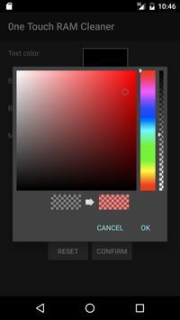 One Touch RAM Cleaner Widget screenshot 3