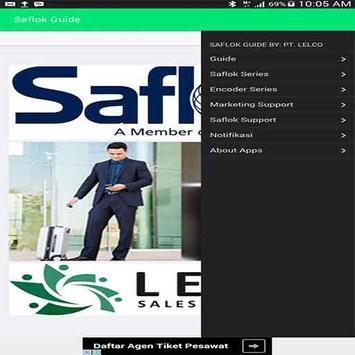 Saflok Guide by PT. Lelco poster